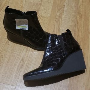 Donald J Pliner Wedge Booties NWT